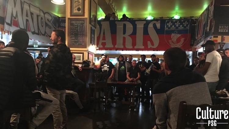 Supporters Le Collectif Ultras Paris A Fait Le Point Lors De Son