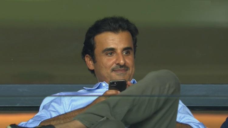 L'émir du Qatar au Parc pour PSG/Real Madrid