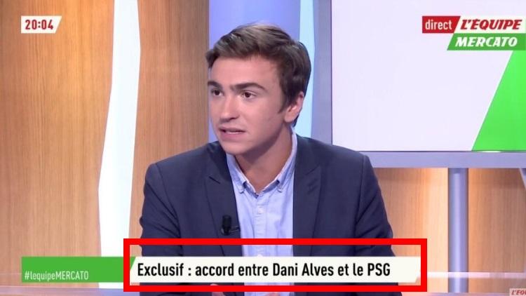 Dani Alves serait proche de signer au PSG — Mercato