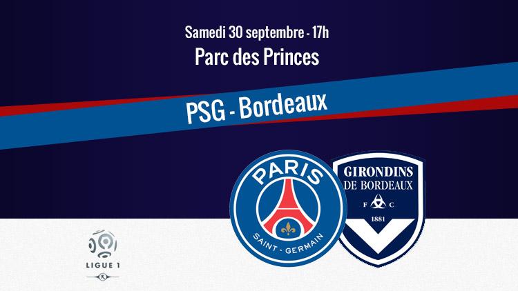 Les compos sont là — PSG-Bordeaux