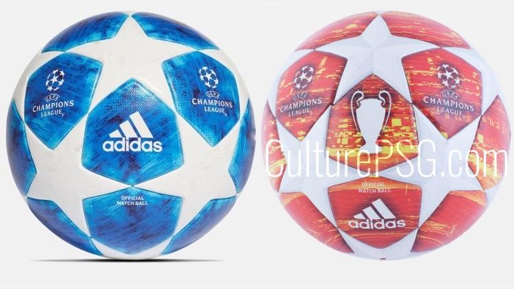 Le nouveau ballon de la Ligue des champions
