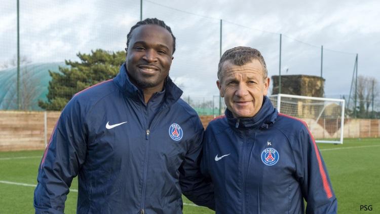 Le PSG officialise le retour de Bernard Mendy