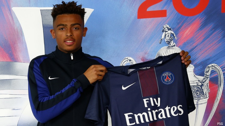 Maillot THIRD PSG Antoine BERNEDE