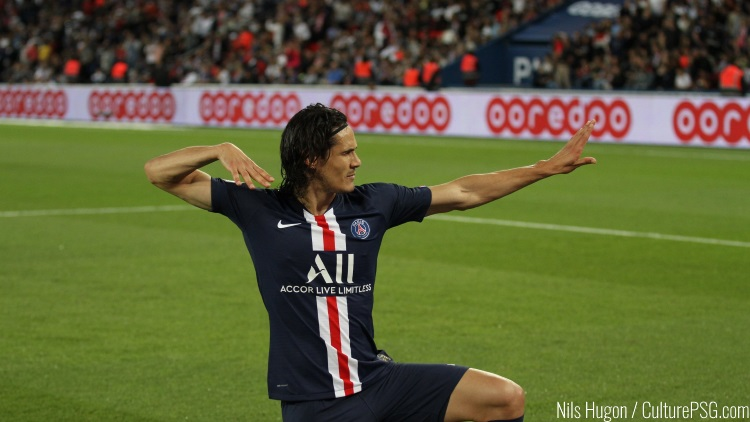 Cavani annoncé à l'Inter Miami en 2020 (Fox Sports)