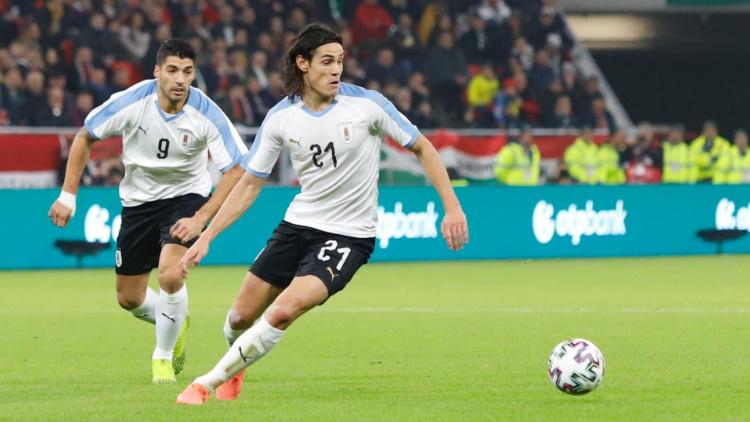 Le but de Cavani avec l'Uruguay en vidéo