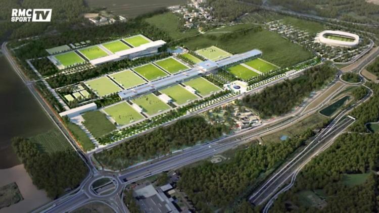 Les plans du futur centre d'entraînement du PSG (vidéo)