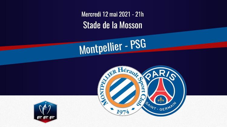 Montpellier/PSG, chaîne TV, commentateurs et rediffusion