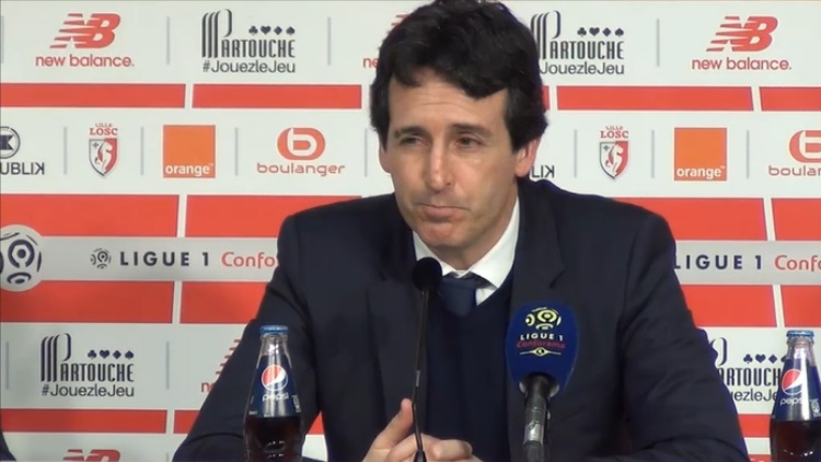 La satisfaction d'Emery — PSG