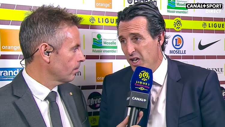 Emery : «Un bon match à regarder et à analyser»