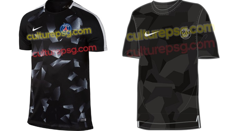 survetement psg Tenue de match