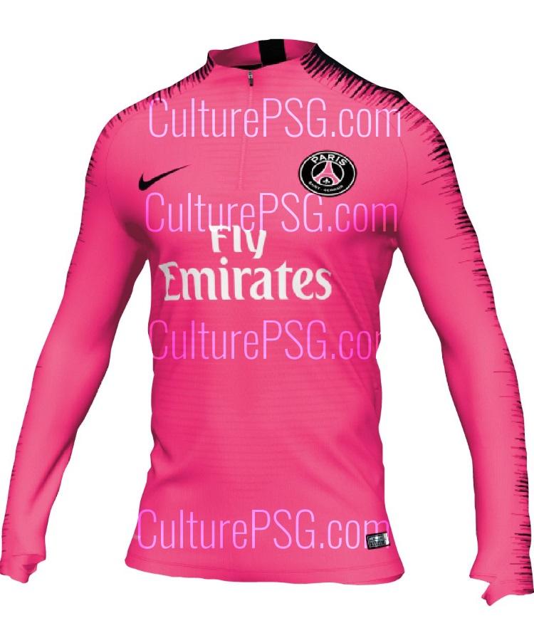 6d765e3d836f Club    Exclu  Une gamme d équipements très rose pour le PSG ...