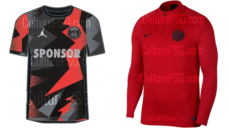 superior quality huge discount new arrivals Club : [Exclu] Maillot pré-match PSG x Jordan, gamme ...