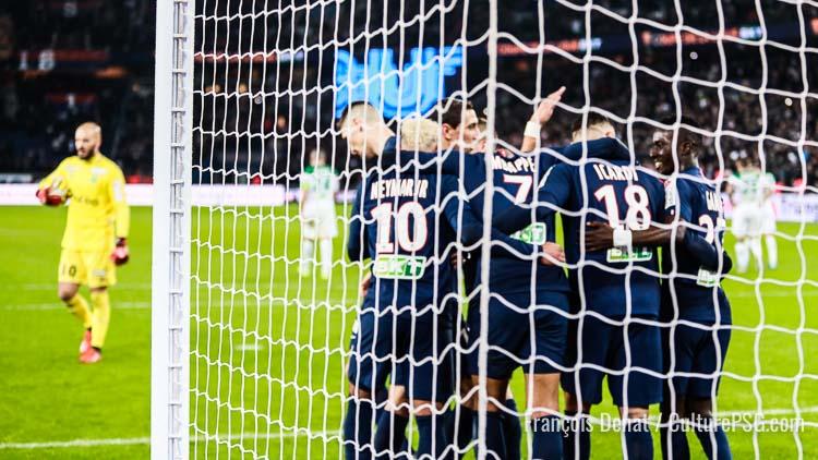 Match Psg Saint Etienne 6 1 Les Performances Individuelles