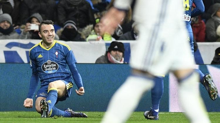 Aspas a recalé le PSG — Celta