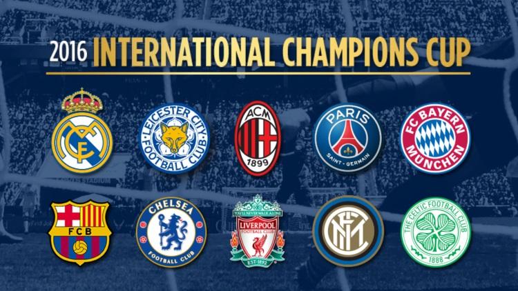 Club : 9M€ en 3 matches d'International Champions Cup pour ...