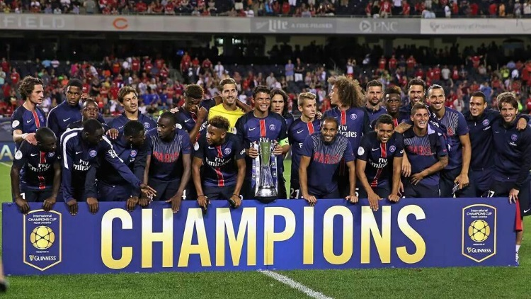 International Champions Cup 2020 Calendrier.Club Pas D International Champions Cup 2019 Pour Le Psg