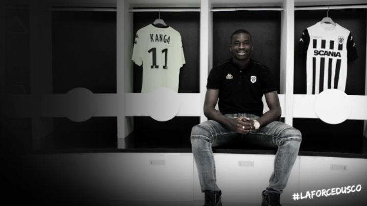 Wilfried Kanga signe au SCO