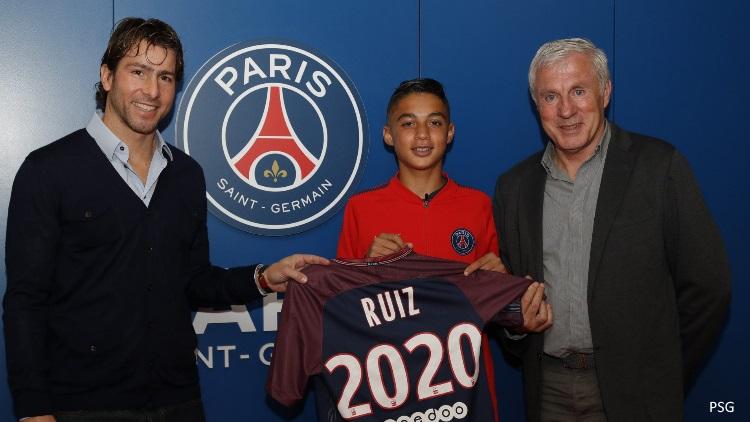 Kays Ruiz signe un contrat aspirant au PSG — Officiel
