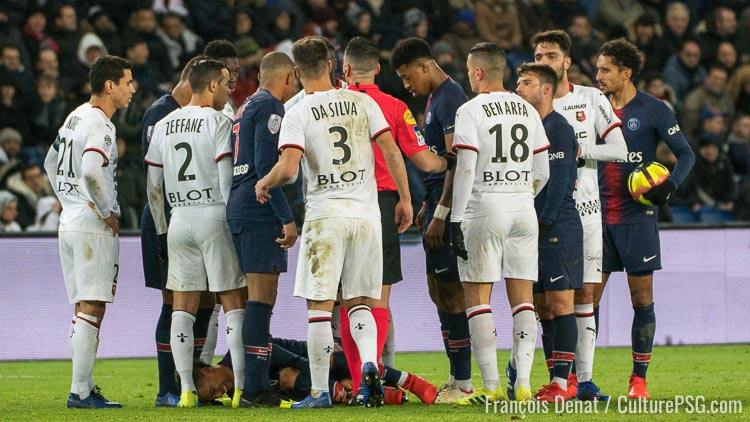 Kehrer, Mbaye Niang s'excuse pour son tacle — Rennes