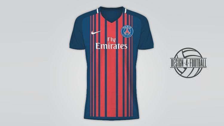 Image : Un designer revisite le maillot 1993/1994 du PSG | CulturePSG