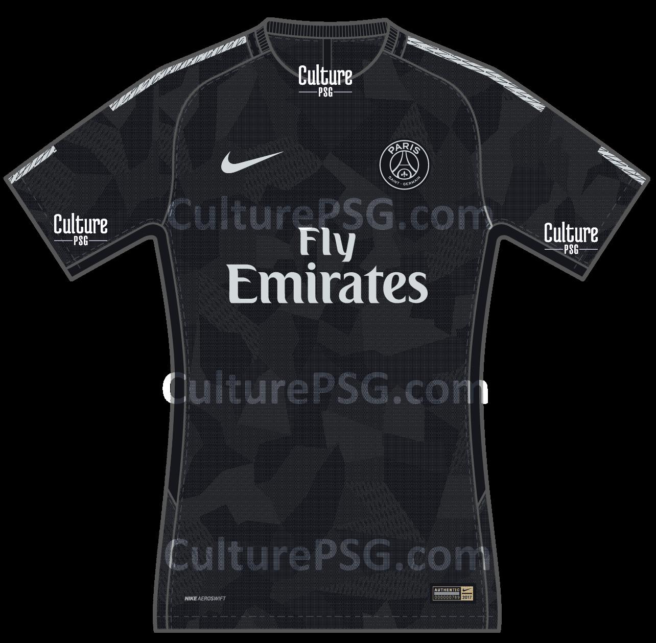 Très Club : Le maillot Europe 2017/2018 du PSG fuite aussi | CulturePSG OQ23