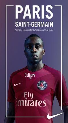 Club exclu le maillot ext rieur 2016 2017 du psg for Maillot psg exterieur 2016