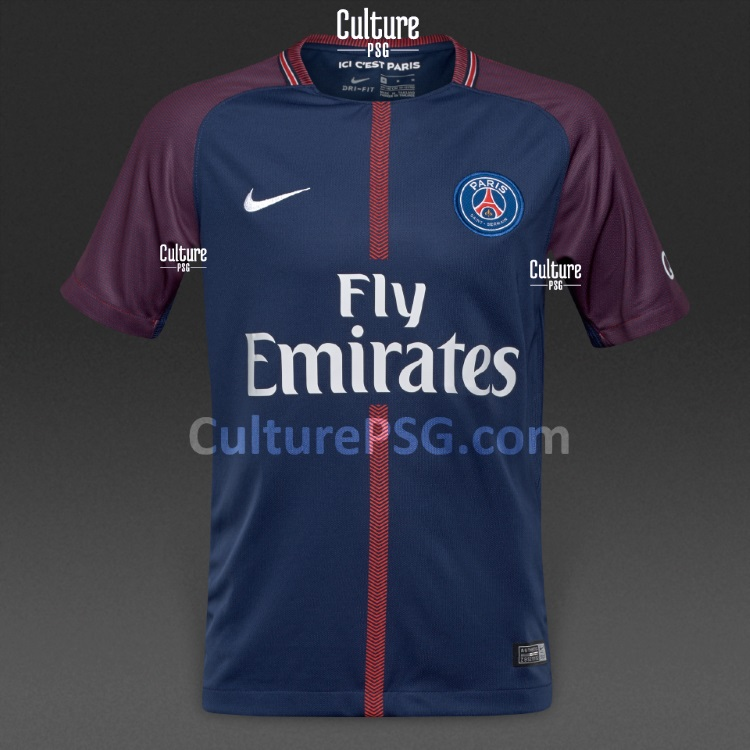 club exclu d 39 autres visuels du maillot domicile 2017 2018 du psg culturepsg. Black Bedroom Furniture Sets. Home Design Ideas