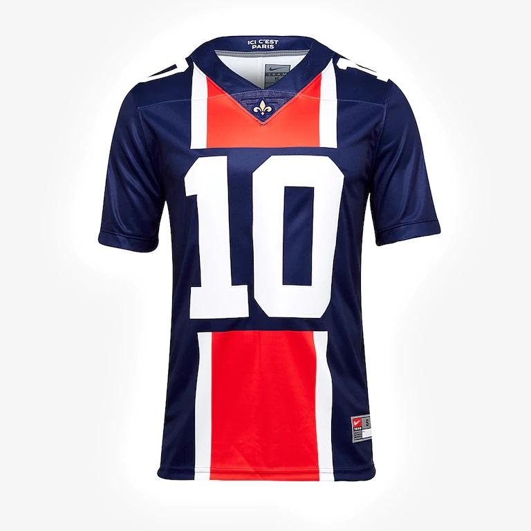 good details for detailed pictures Club : Nike lance un maillot de foot US aux couleurs du PSG ...