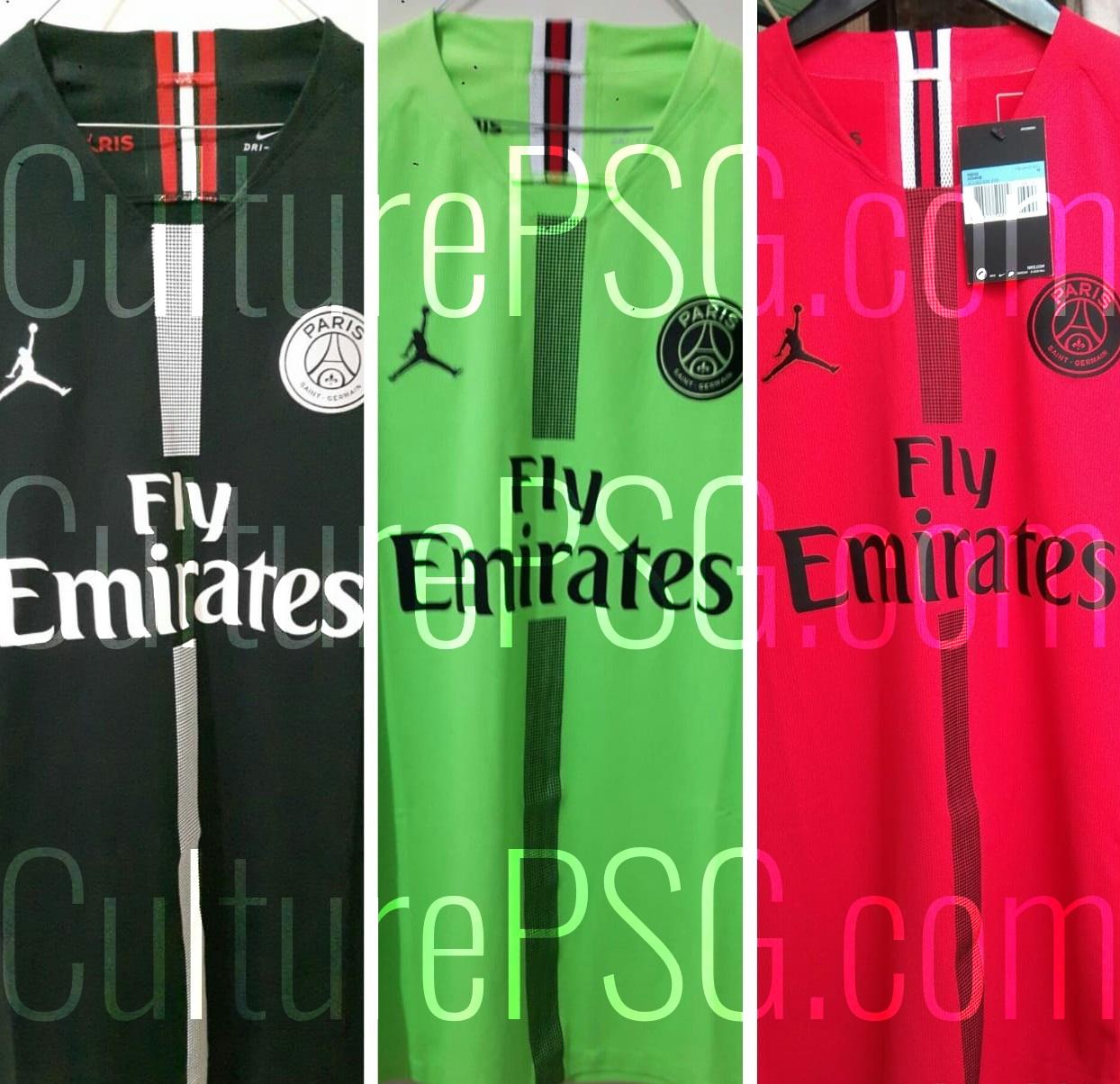 ab4e4ce015e634 Club   Trois maillots de gardien pour la collaboration PSG x Jordan ...