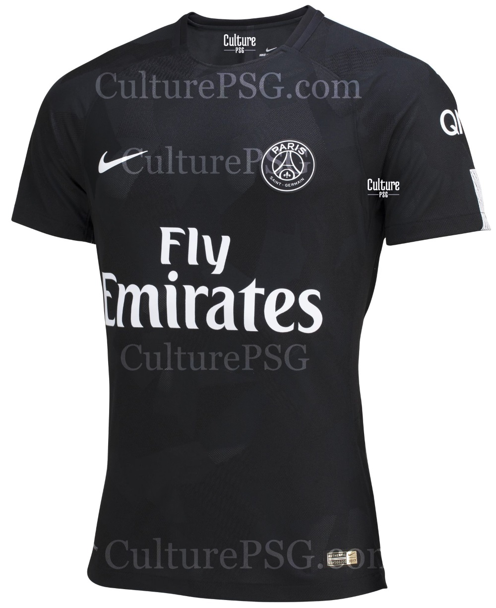 club exclu le maillot third europe 2017 2018 du psg. Black Bedroom Furniture Sets. Home Design Ideas