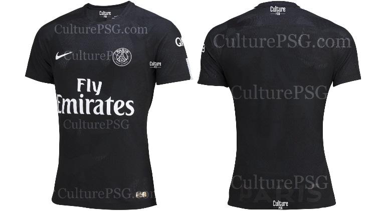 club exclu le maillot third europe 2017 2018 du psg culturepsg. Black Bedroom Furniture Sets. Home Design Ideas