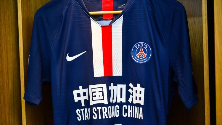 Un maillot de soutien à la Chine pour PSG/Bordeaux