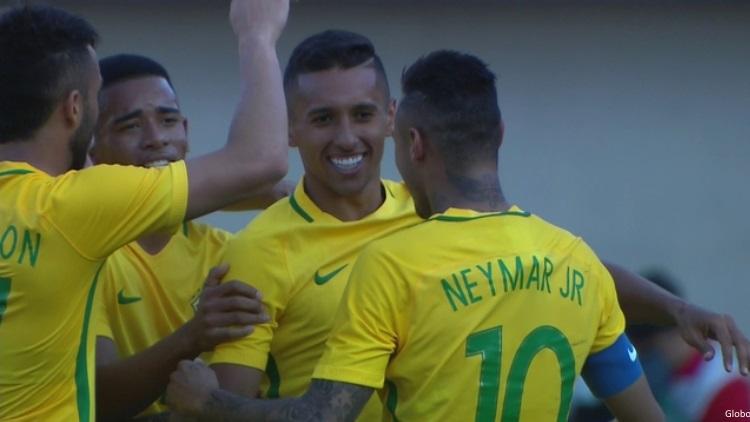 Neymar capitaine du Brésil