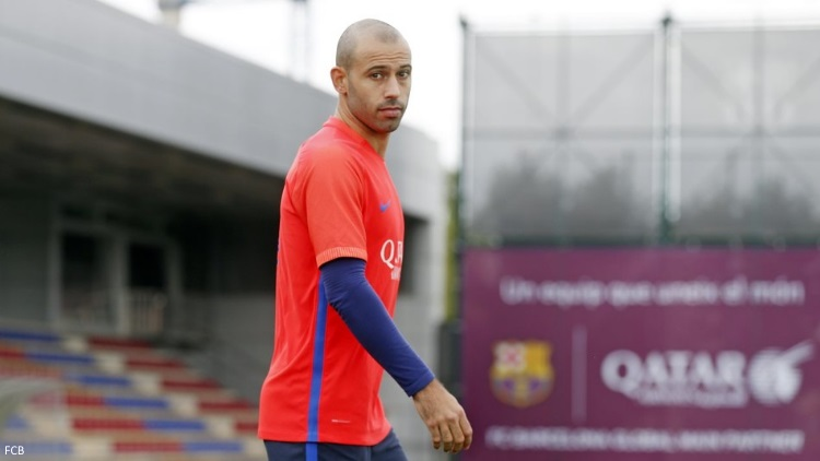Mascherano incertain face au PSG — Barça