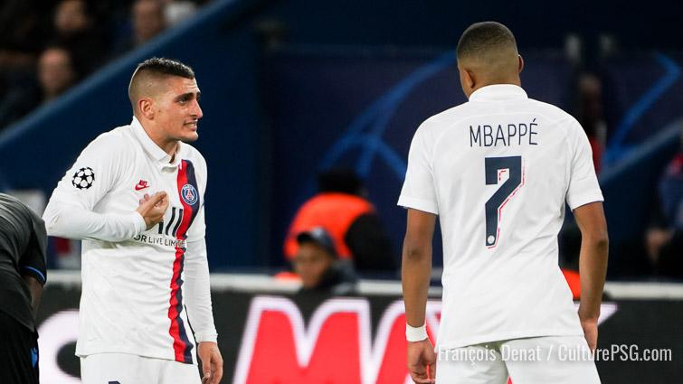 Verratti et Meunier suspendus pour PSG/Dortmund