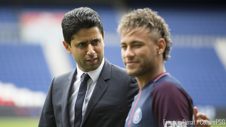 La menace de Nasser envers la Liga — Transfert Neymar