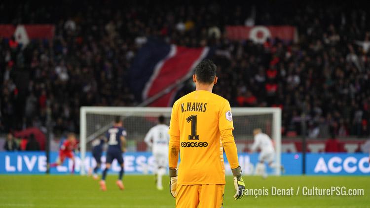 Navas : « Je ne suis pas venu à Paris pour m'amuser »