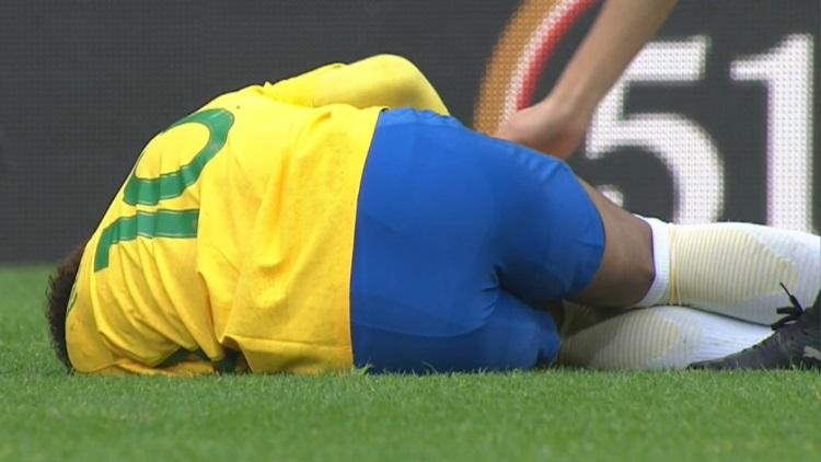 Neymar a mal vécu l'élimination en Coupe du Monde — Brésil