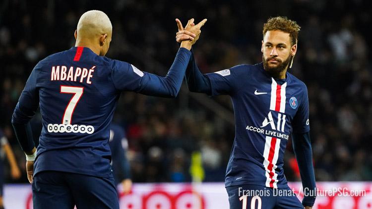 Le groupe avec Neymar et Mbappé pour Lorient/PSG