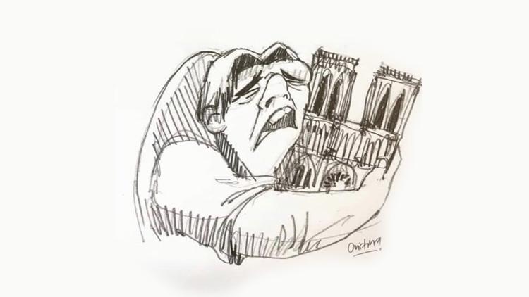 """Résultat de recherche d'images pour """"grande tristesse notre dame"""""""