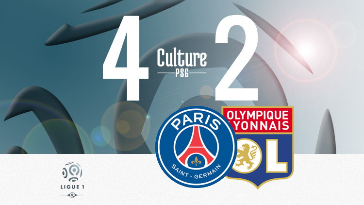 Match Psg Ol 4 2 Le Resume Video Culturepsg