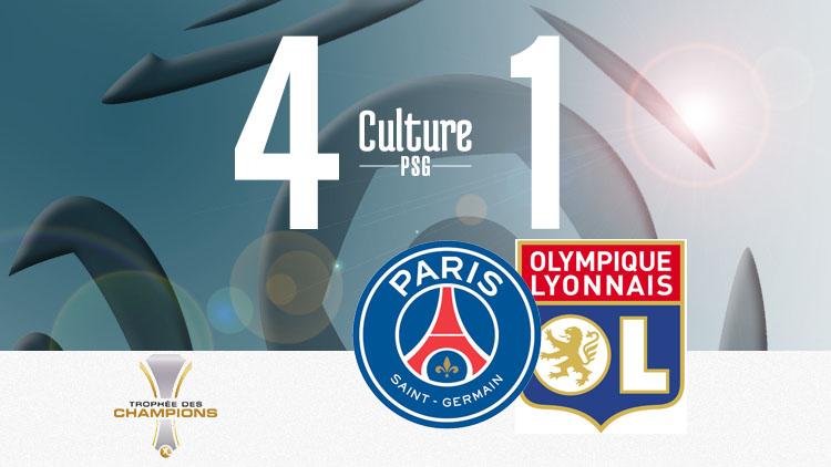 PSG/OL (4-1, Trophée des Champions), le résumé video