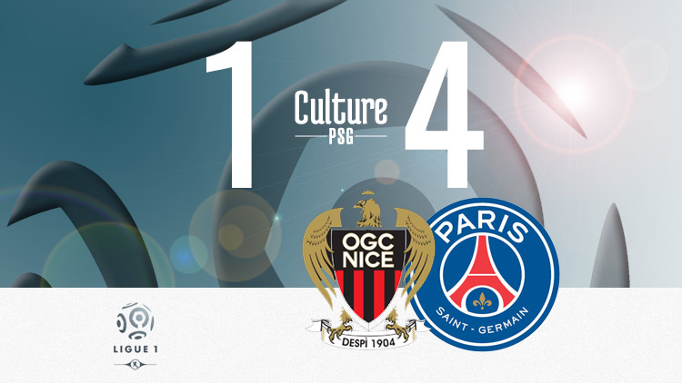 Match Nice Psg 1 4 Le Resume Video Culturepsg