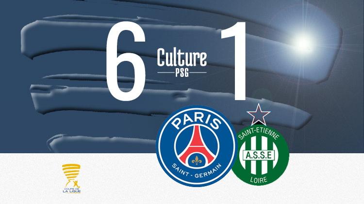 Match Psg Saint Etienne 6 1 Nouvelle Balade Pour Paris