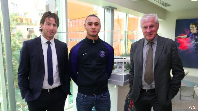 Azzedine Toufiqui passe pro au PSG — Officiel