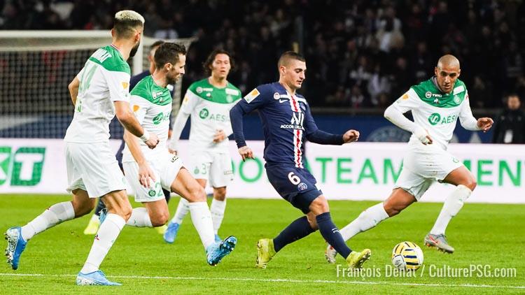 Premières tendances pour les compositions de PSG/Saint-Etienne