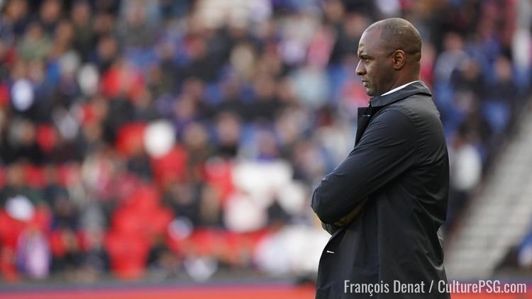 Match Vieira Annonce Six Absents Pour Nice Psg Culturepsg