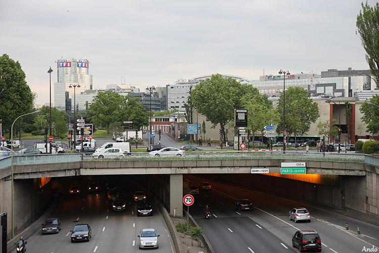 Divers : Paris, le Parc des Princes et ses rues ...