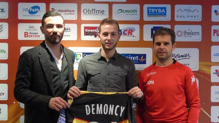 Formation : Demoncy officiellement prêté à Orléans | CulturePSG