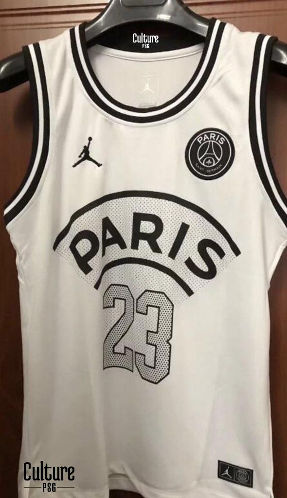 Un nouveau maillot de basket PSG Jordan VIPSG